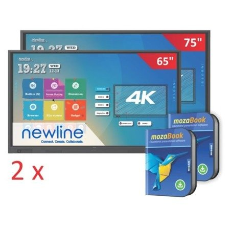 Zestaw: 1x monitor TruTouch TT-7518RS + 1x monitor TruTouch TT-6518RS